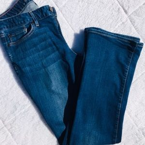 Eddie Bauer Bootcut Jeans Slightly Curvy